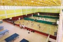 Moe Evans Badminton Court Moe Evans Sports Hall